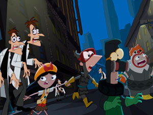 Phineas And Ferb: The Walking Doof