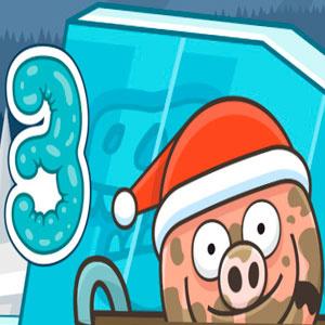 Свинка В Луже На Рождество 3
