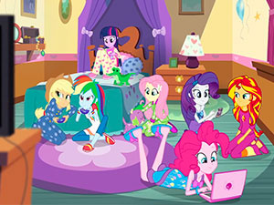 Pinkie Pie Slumber Party