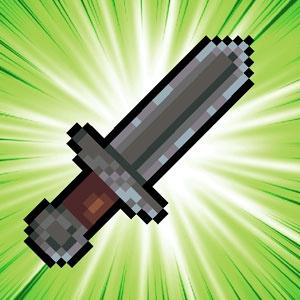 Pixel Sword Toss