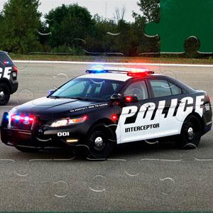 Пазлы Полицейские Машины