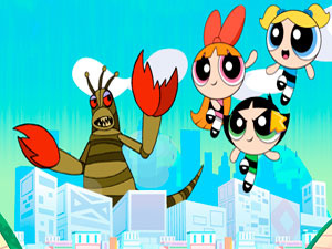 Powerpuff Girls Panic in Townsville