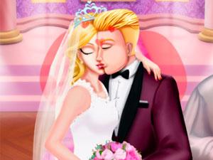 Princess Wedding Kiss
