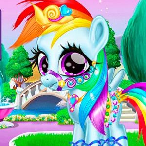 Забота За Радужной Пони