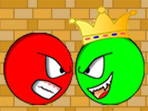 Красный Шар Против Зелёного Короля