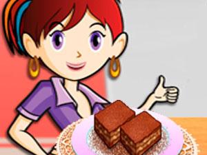 Sara`s Cooking Class Caramel Nut Brownie
