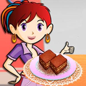 Кухня Сары Карамельный Ореховый Брауни