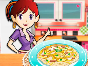 Sara`s Cooking Class Chicken Fettuccine Alfredo