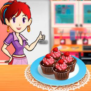 Кухня Сари Шоколадні Кекси З Малиною