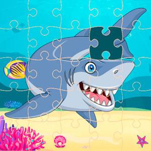Пазлы Акулы