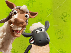 Shaun The Sheep Llama League
