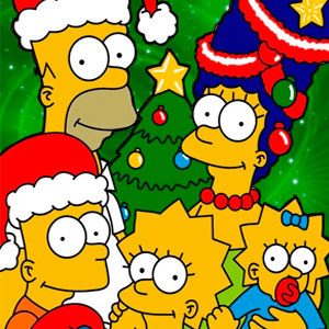 Симпсоны: Новогодние Пазлы