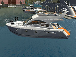 Yacht Simulator: Parking