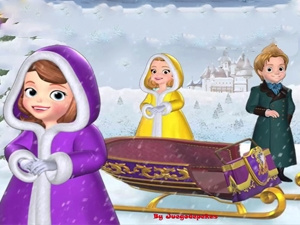 Sofia The First: The Magic Sleighs Race