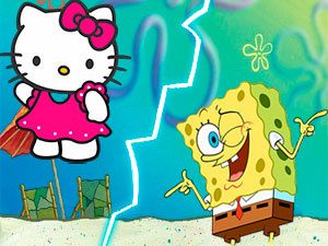 Sponge Bob Or Hello Kitty