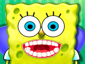 Sponge Bob Tooth Surgery