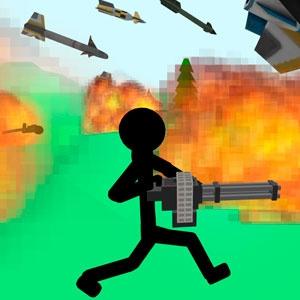Стикмен: Вооруженный Наемник 3Д