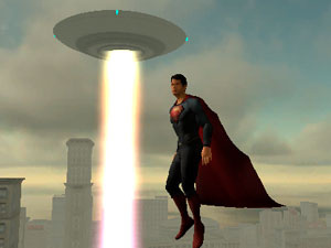Superman Theme Is Aliens