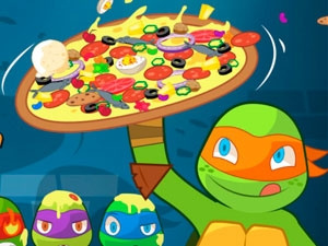 Teenage Mutant Ninja Turtles Pizza Like A Turtle Do