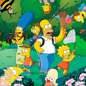 The Simpsons Jigsaw Puzzle: Springfield