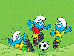 The Smurfs`Football Match
