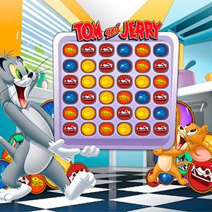Том И Джерри Три В Ряд