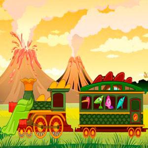 Поезд С Динозаврами