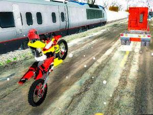 Гонки На Мотоцикле Против Поезда
