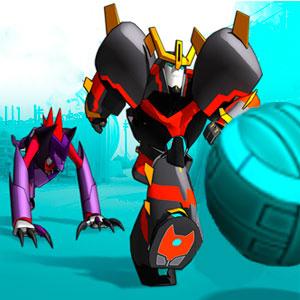 Трансформеры Роботы В Маскировке Супер Мини-Кон Нападающий