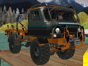 Truck Mountain Transport