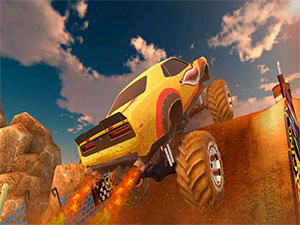 Ultimate MMX Heavy Monster Truck:Police Chase Racing