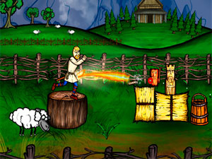 Viking Trickshot