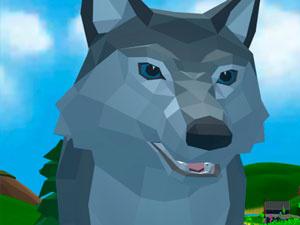 Wolf Simulator Wild Animals D
