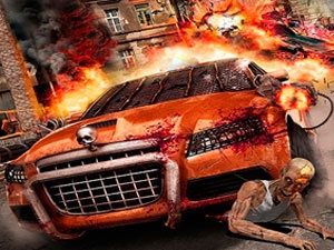 Zombie Dead Highway Car Rrace Game