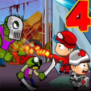 Защита Башни От Зомби 4